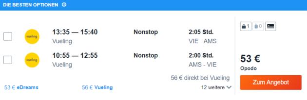 Flüge Amsterdam