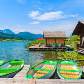 Idyllisches Wochenende am Weißensee: 2 Tage Österreich im 3* Hotel mit Frühstück nur 39€