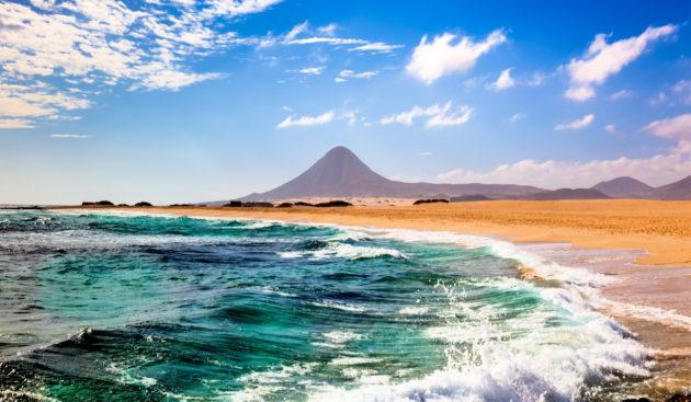 Spanien Fuerteventura Strand