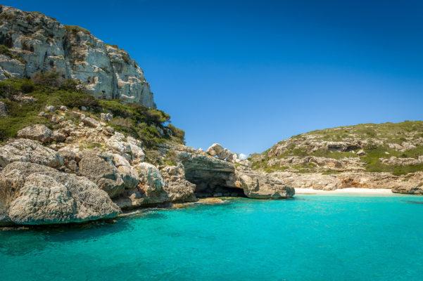 Spanien Ibiza Cala Marmolis