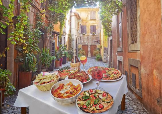 Italien Italienische Küche