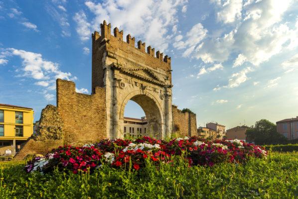 Italien Rimini Arch of Augustus