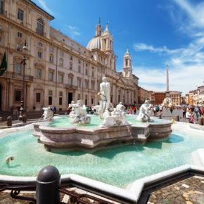 Kurztrip nach Rom: 3 Tage Bella Italia im Sommer mit 3* Hotel & Flug nur 61€