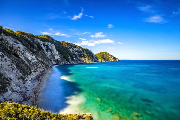 Italien Toskana Elba Island Küste