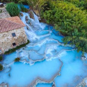 Thermalquellen von Saturnia: 4 Tage Toskana in guter Unterkunft inkl. Flug für 97€