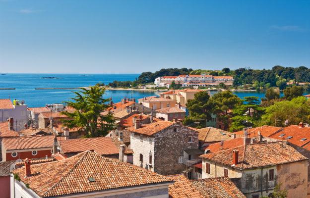 Kroatien Altstadt Porec Küste