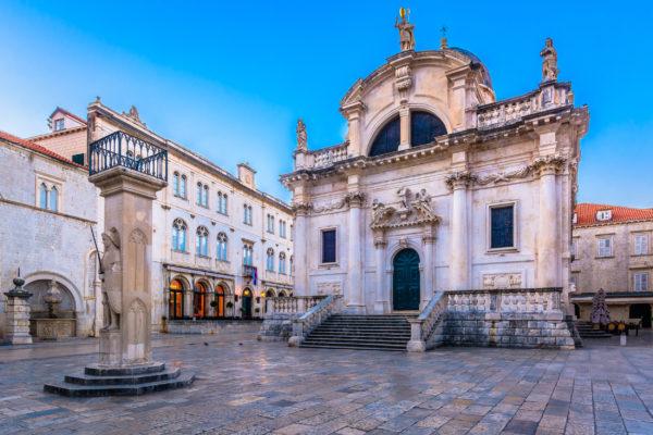 Kroatien Dubrovnik Kirche Blasius