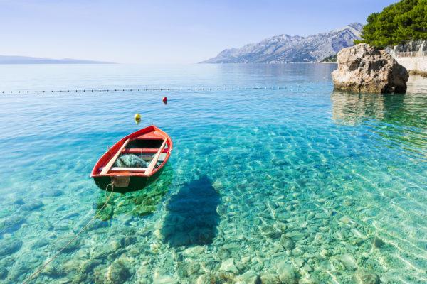 Kroatien Makarska Boot