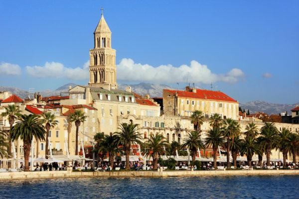 Kroatien Split Promenade
