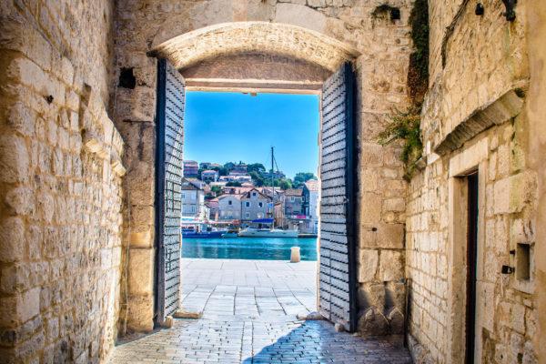 Kroatien Togir Stadt