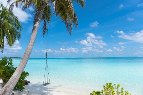 Malediven Schaukel Meer
