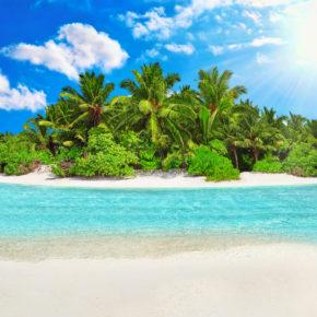 Traumhafte Malediven 2021: 9 Tage in TOP 4* Beach Villa mit Halbpension, Flug & Transfer für 1.942€