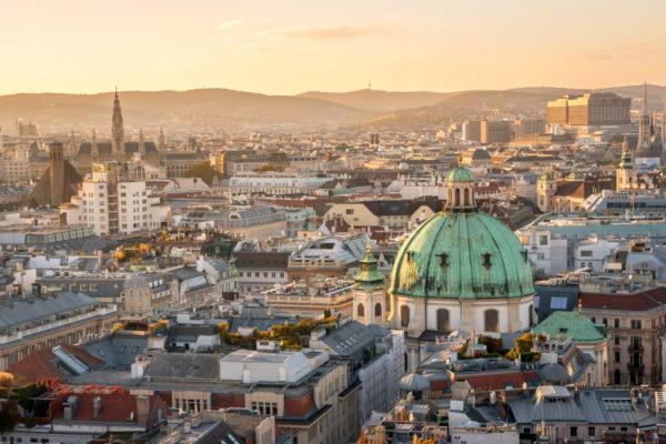 Wien Panorama Sunset