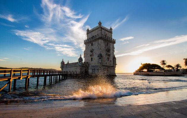 Portugal Lissabon Torre de Belem