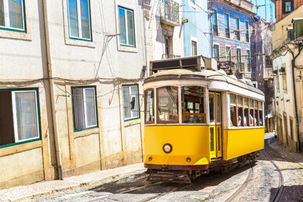 Lissabon Bahn