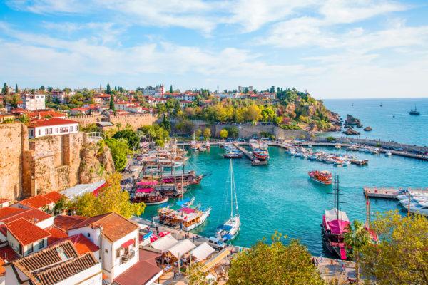 Türkei Antalya Hafen