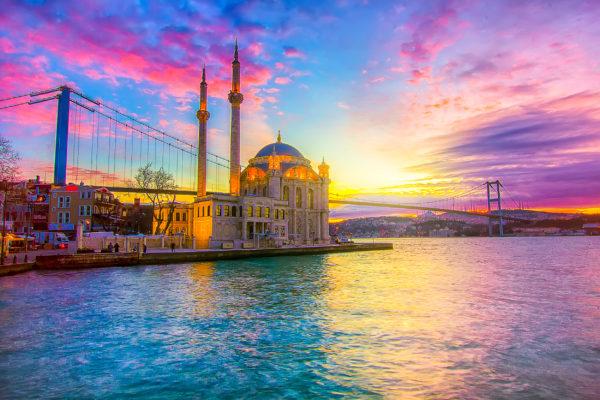 Türkei Istanbul Bosporus