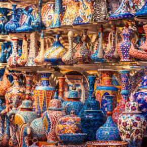 Türkei Istanbul Grand Bazaar Vasen