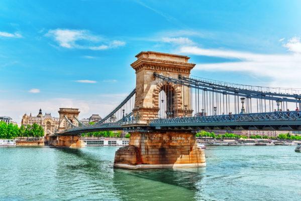Ungarn Budapest Brücke