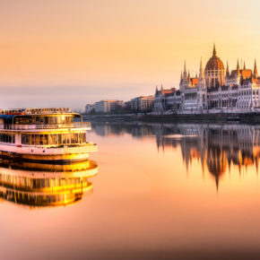 Budapest übers Wochenende: 2 Tage im guten 3* Hotel um 13€