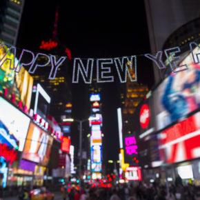 USA New York Silvester
