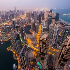 VAE Dubai Nacht