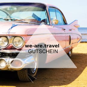 We-are.travel Gutschein: [v_value] bei Eurer nächsten Buchung sparen