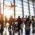 Flughafen Menschen