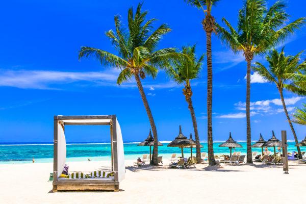 Mauritius Strand Schirme