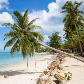 Thailand Frühbucher: 14 Tage Koh Phangan im guten 3* Strandresort mit Etihad Flug für 349€