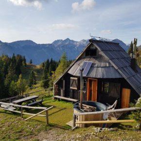 Ferienhaus am Wochenende: 3 Tage Slowenien in Almhütte mit Sauna ab 80€ p.P. (auch im Sommer!)