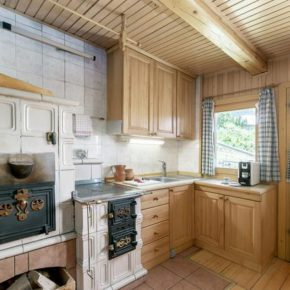 Hirtenhütte Slowenien Küche