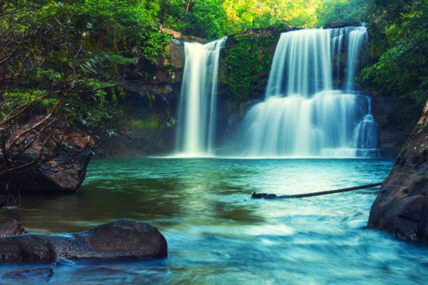 Indonesien Bali Wasserfall