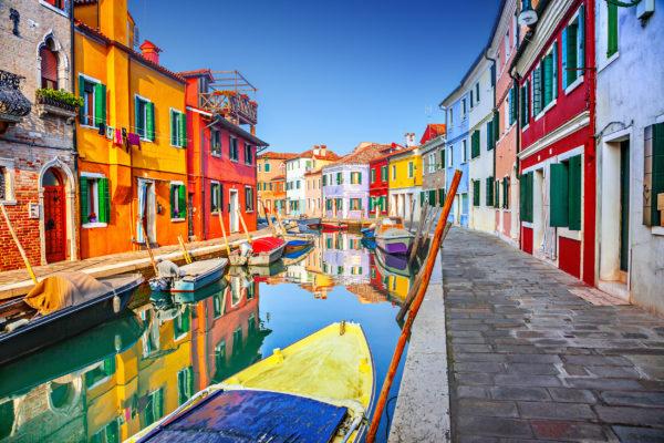 Italien Venedig Burano