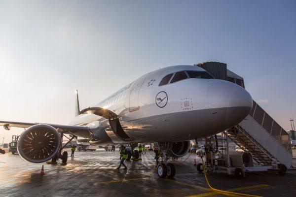 Lufthansa Flugzeug Presse