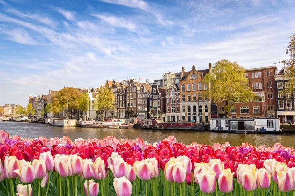 Hollanad Amsterdam Kanal