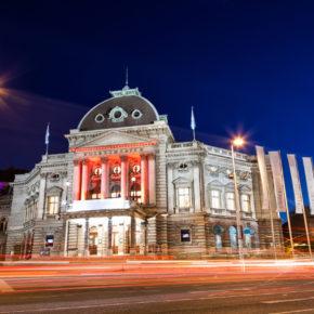 Österreich Wien Volkstheater