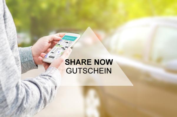 Share Now Gutschein