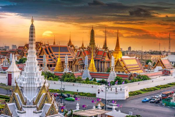 Thailand Bangkok Palast