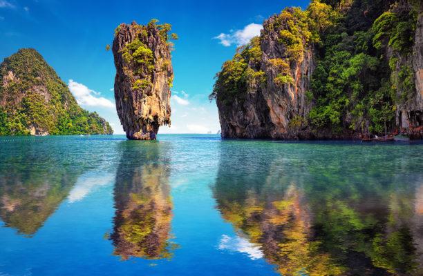 Thailand Khao Lak Phang Nga Bucht