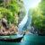 Thailand Krabi Boot Klippe