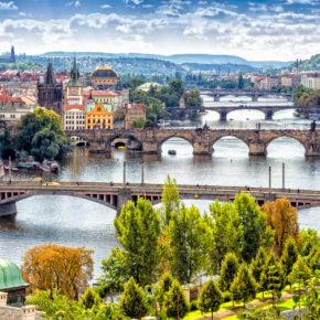 Wochenendtrip in die Goldene Stadt: 2 Tage Prag mit zentralem TOP 4* Hotel & Frühstück nur 18€