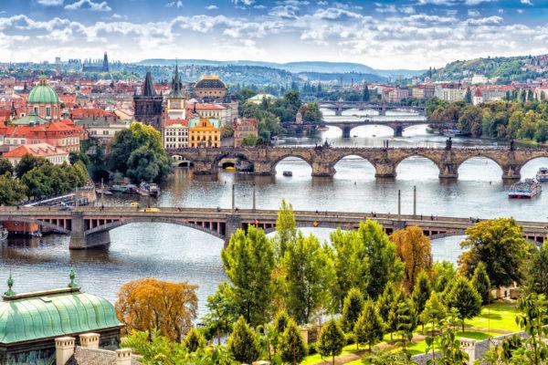 Tschechien Prag Brücken