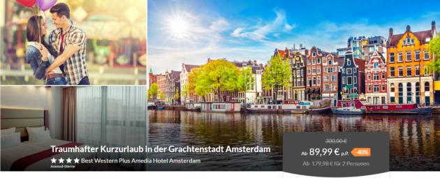 3 Tage Amsterdam Gutschein