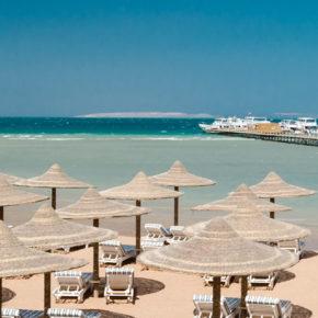 Urlaub in Hurghada: 7 Tage im 5* Strandhotel mit All Inclusive Plus, Flug & Transfer nur 338€