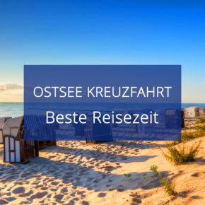 Beste Reisezeit für eine Ostsee Kreuzfahrt: Temperaturen, Klimatabellen & Niederschlag