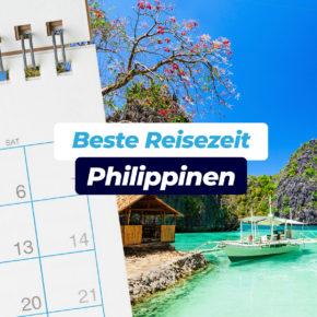 Beste Reisezeit für die Philippinen: Klima & Wetter inkl. Klimatabellen