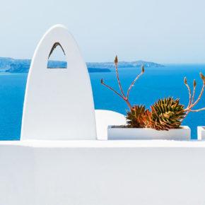 Frühbucher Schnapper: 8 Tage Santorini mit TOP 3* Hotel & Flug um 205€