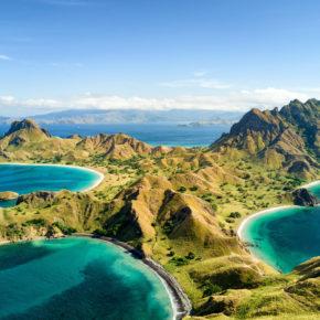 Indonesien Komodo Pulau Padar