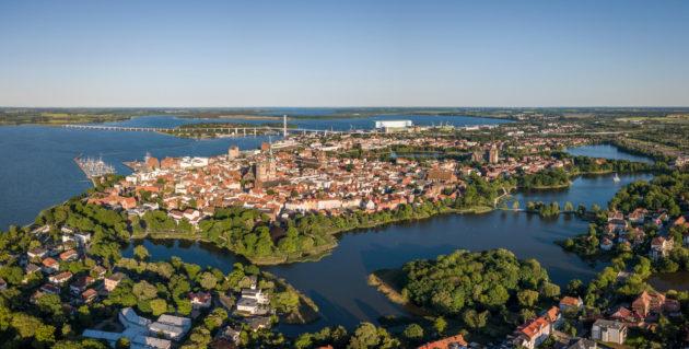 Stralsund Luftbild